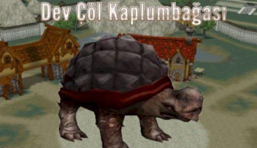 Dev Çöl Kaplumbağası
